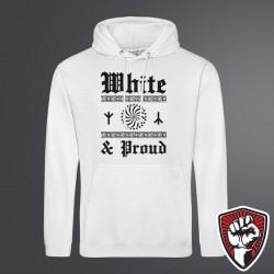 Bluza Kangur White Proud